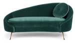 Sofa I Am Not A Croissant Dark Green