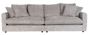 Sofa Sense 3-Seater Light Grey Soft