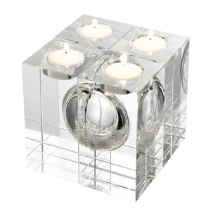 Tealight Holder Argenta Set of 4