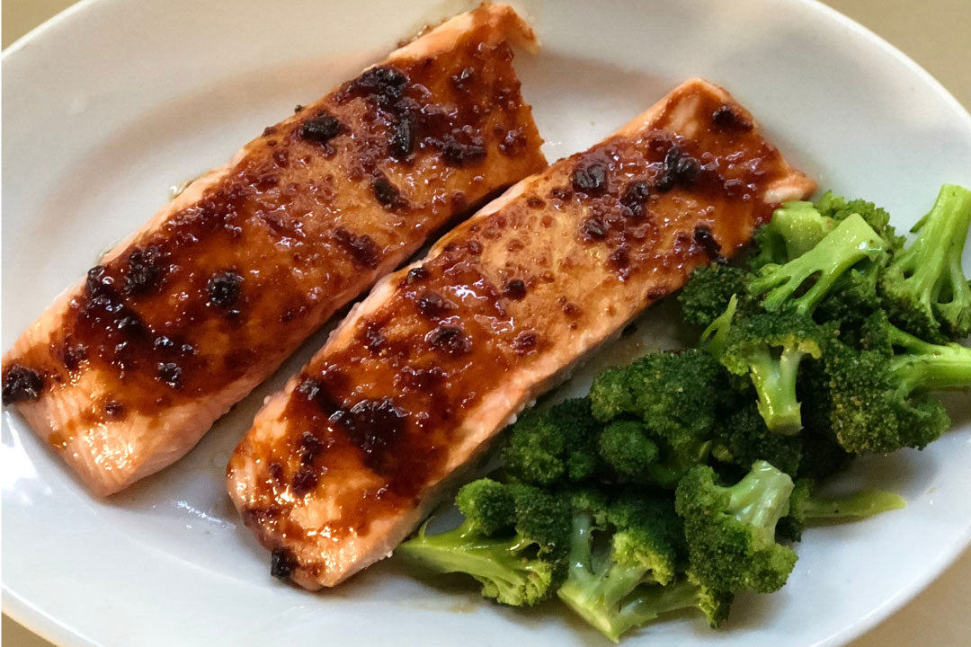 Jenkins Jellies Roasted Salmon