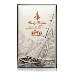Brown Butter w/ Nibs & Sea Salt 73% Dark Chocolate BY DICK TAYLOR CRAFT CHOCOLATE