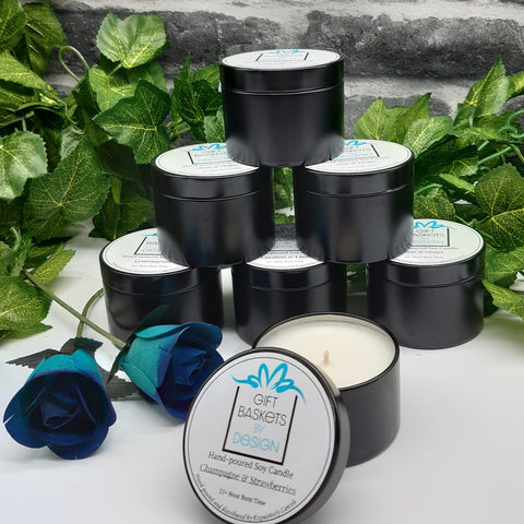 Candles -  Natural Soy Travel Candles - 4 Fragrances