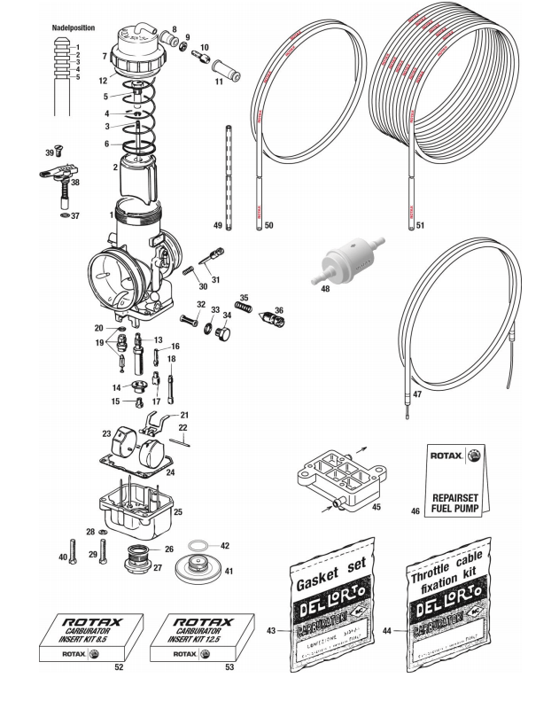46 – GASKET SET FUEL PUMP