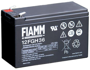 FIAMM DRYCELL BATTERY FOR TAG 12 VOLT (Or other Brand)