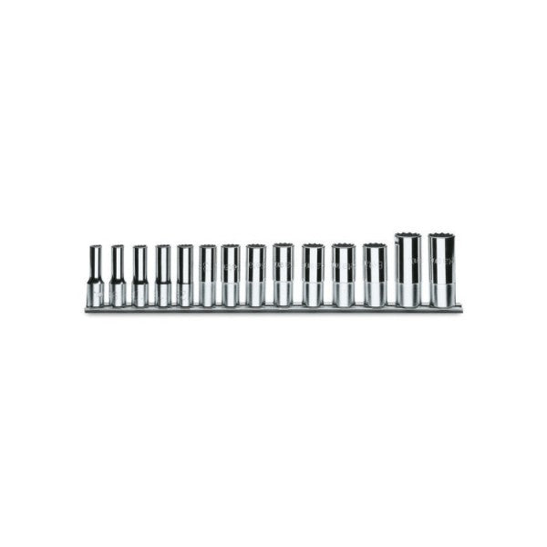 910AL/SB14 Metric Socket Set (14)