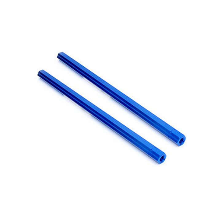 HEXAGON Aluminum Tie Rod 255mm Blue (4R & Covert 3.0)