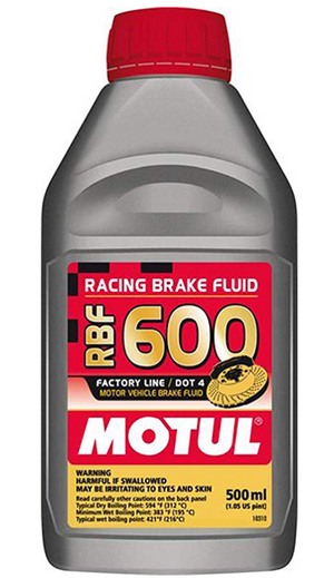MOTUL RBF 600 Brake Fluid 1/2 Liter