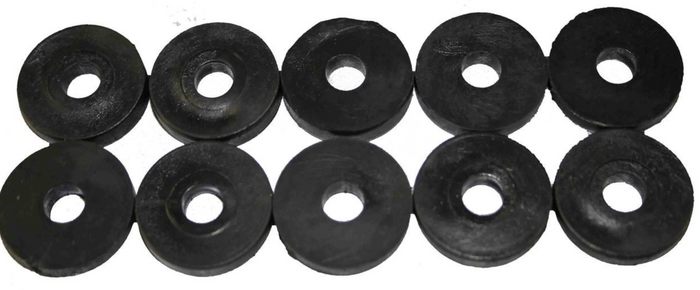 FLOORPAN RUBBER GROMMETS (10 PACKS)