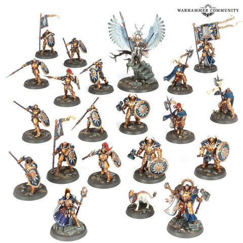 Stormcast Eternal models from Dominion