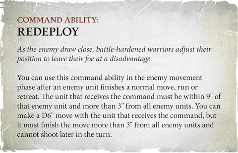 Command Ability - Redeploy
