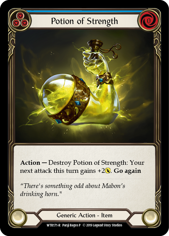 Potion of Strength [WTR171-R] Alpha Print Normal | Gamers Grove