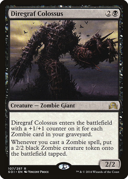 Diregraf Colossus [Shadows over Innistrad] | Gamers Grove