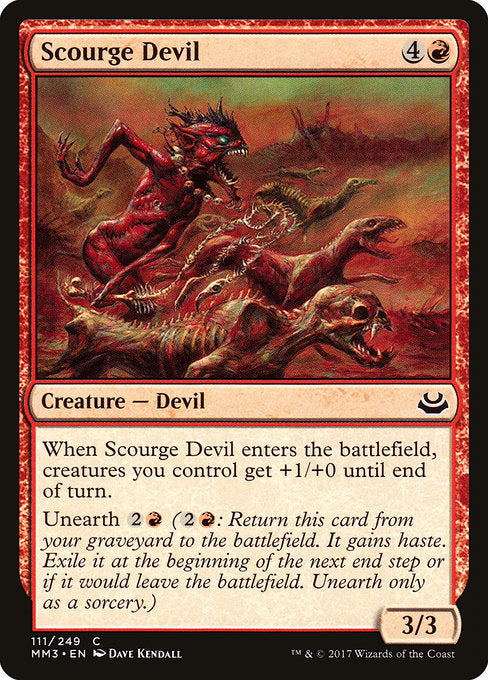 Scourge Devil [Modern Masters 2017] | Gamers Grove