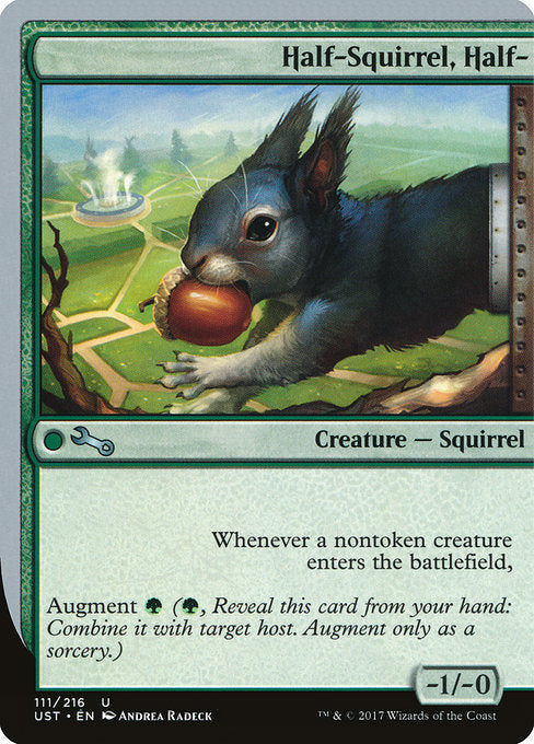 Half-Squirrel, Half- [Unstable] | Gamers Grove