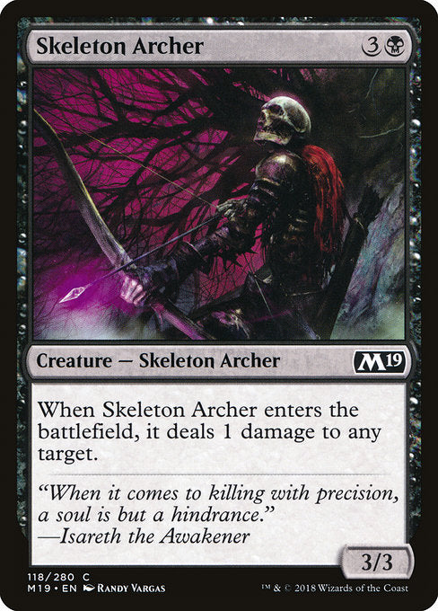 Skeleton Archer [Core Set 2019] | Gamers Grove