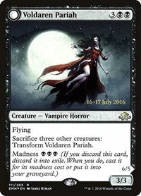 Voldaren Pariah // Abolisher of Bloodlines [Eldritch Moon Promos] | Gamers Grove