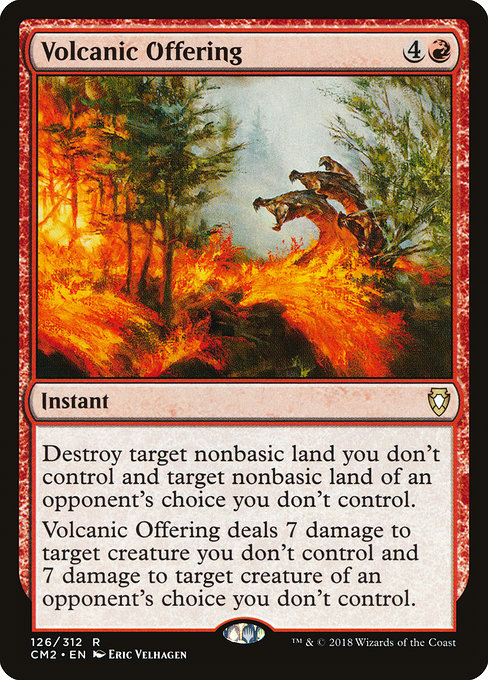 Volcanic Offering [Commander Anthology Volume II] | Gamers Grove