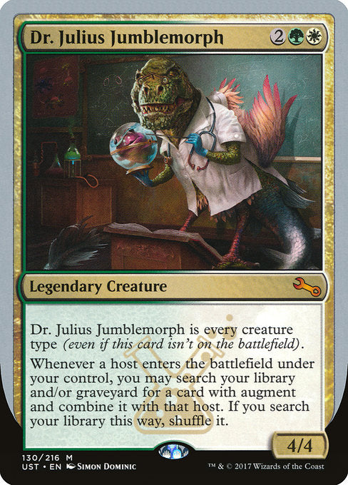 Dr. Julius Jumblemorph [Unstable] | Gamers Grove