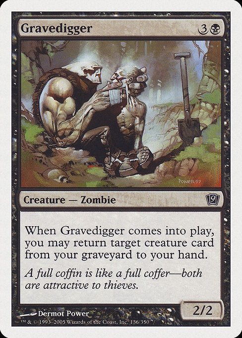 Gravedigger [Ninth Edition] | Gamers Grove