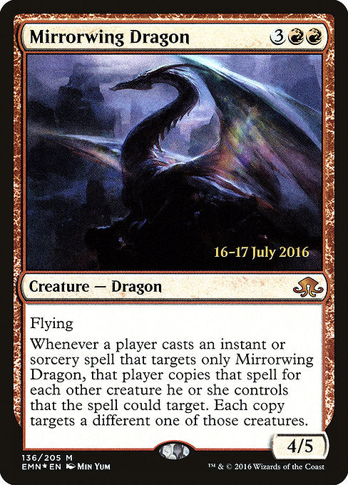 Mirrorwing Dragon [Eldritch Moon Promos] | Gamers Grove