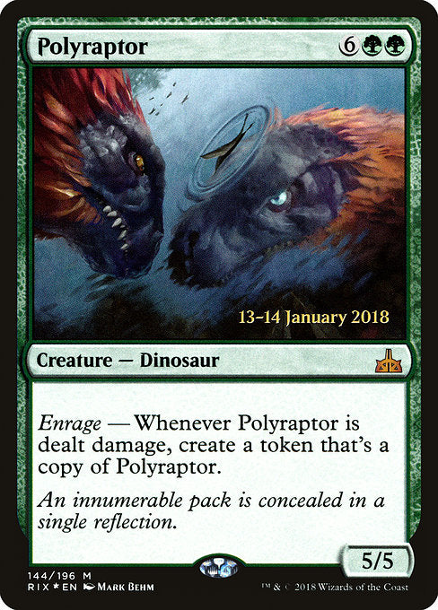 Polyraptor [Rivals of Ixalan Promos] | Gamers Grove