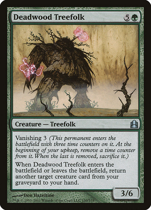 Deadwood Treefolk [Commander 2011] | Gamers Grove