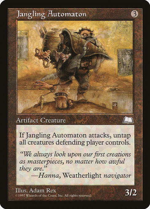 Jangling Automaton [Weatherlight] | Gamers Grove
