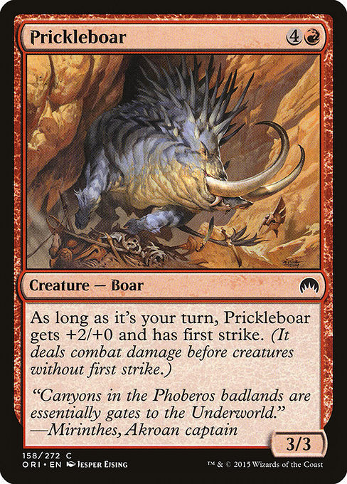 Prickleboar [Magic Origins] | Gamers Grove