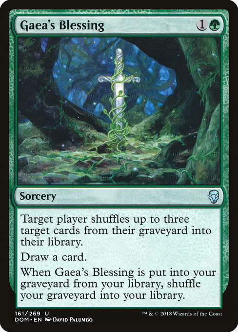 Gaea's Blessing [Dominaria] | Gamers Grove