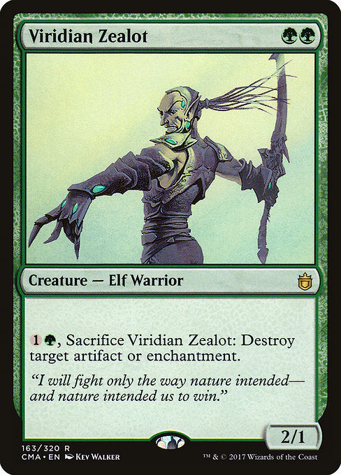 Viridian Zealot [Commander Anthology] | Gamers Grove