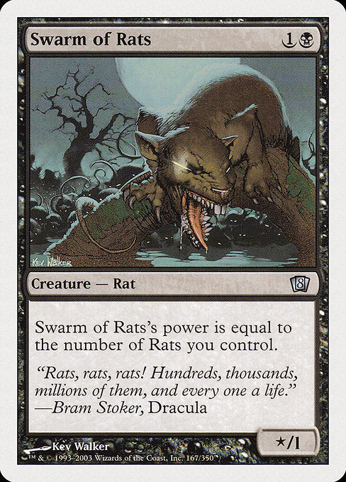 Swarm of Rats [Eighth Edition] | Gamers Grove