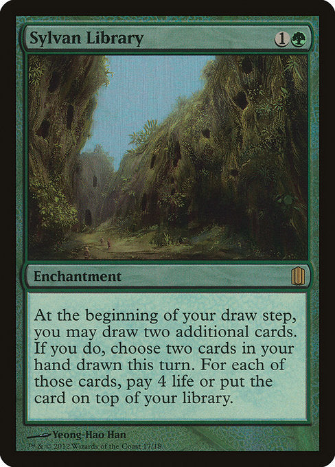 Sylvan Library [Commander's Arsenal] | Gamers Grove