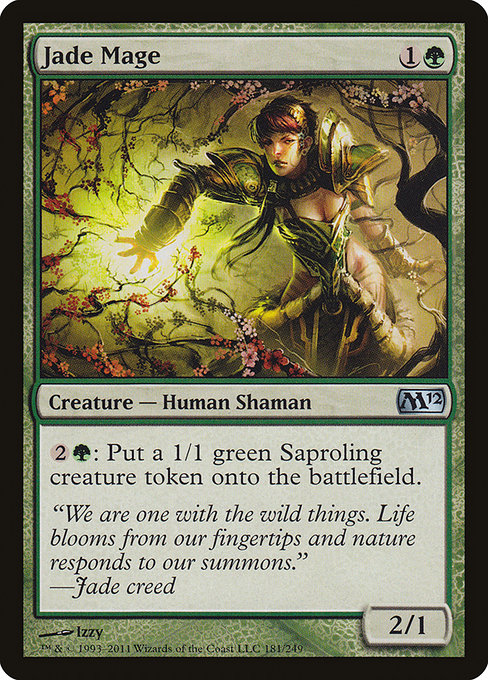 Jade Mage [Magic 2012] | Gamers Grove