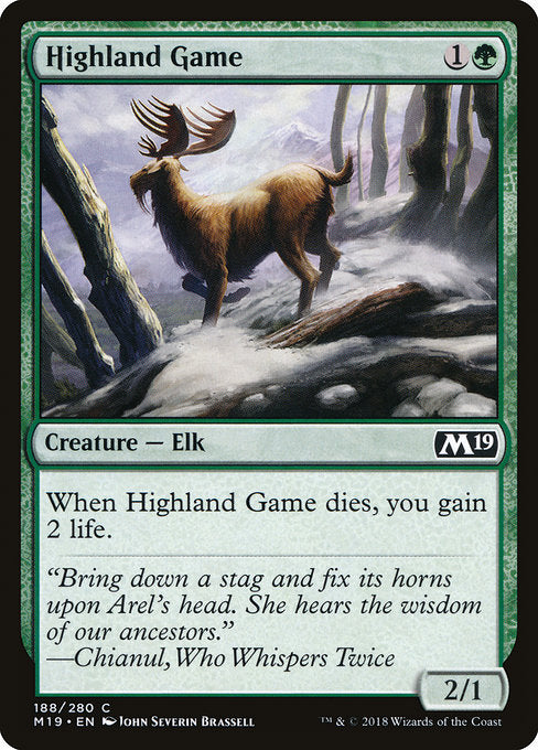 Highland Game [Core Set 2019] | Gamers Grove
