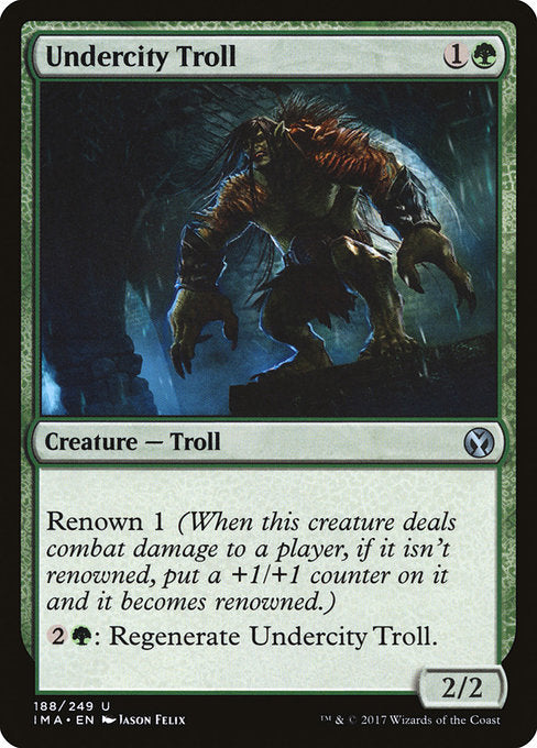 Undercity Troll [Iconic Masters] | Gamers Grove