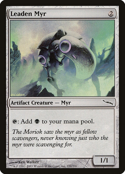 Leaden Myr [Mirrodin] | Gamers Grove