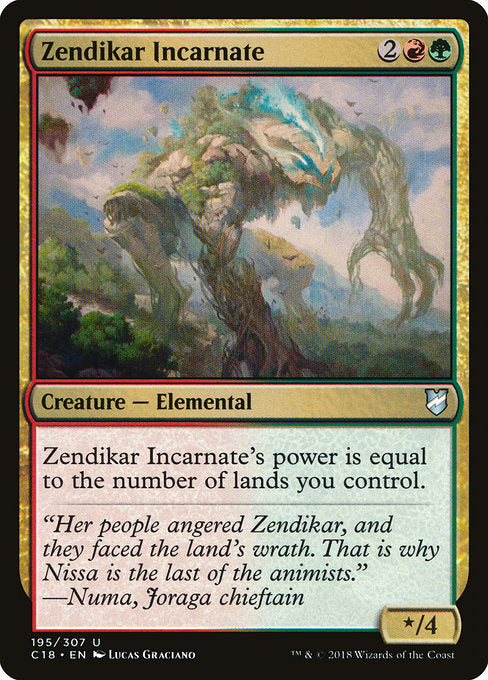 Zendikar Incarnate [Commander 2018] | Gamers Grove