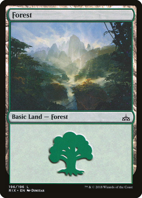 Forest [Rivals of Ixalan] | Gamers Grove
