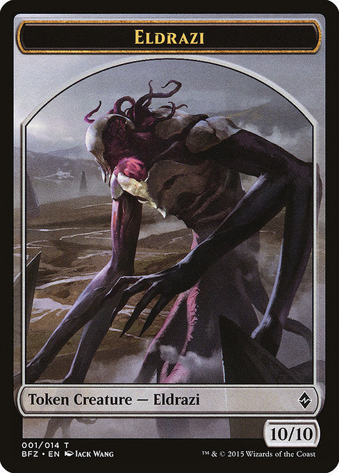 Eldrazi [Battle for Zendikar Tokens] | Gamers Grove