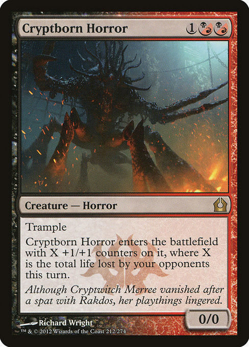 Cryptborn Horror [Return to Ravnica] | Gamers Grove