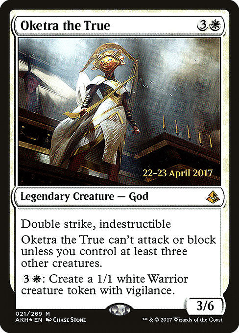 Oketra the True [Amonkhet Promos] | Gamers Grove