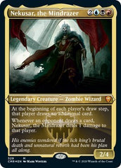 Nekusar, the Mindrazer (Foil Etched) [Commander Legends] | Gamers Grove