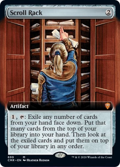 Scroll Rack (Extended Art) [Commander Legends] | Gamers Grove