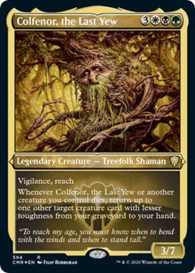 Colfenor, the Last Yew (Foil Etched) [Commander Legends] | Gamers Grove