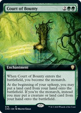 Court of Bounty (Extended Art) [Commander Legends] | Gamers Grove