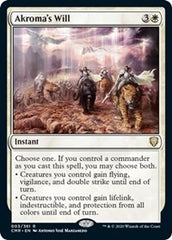 Akroma's Will [Commander Legends] | Gamers Grove