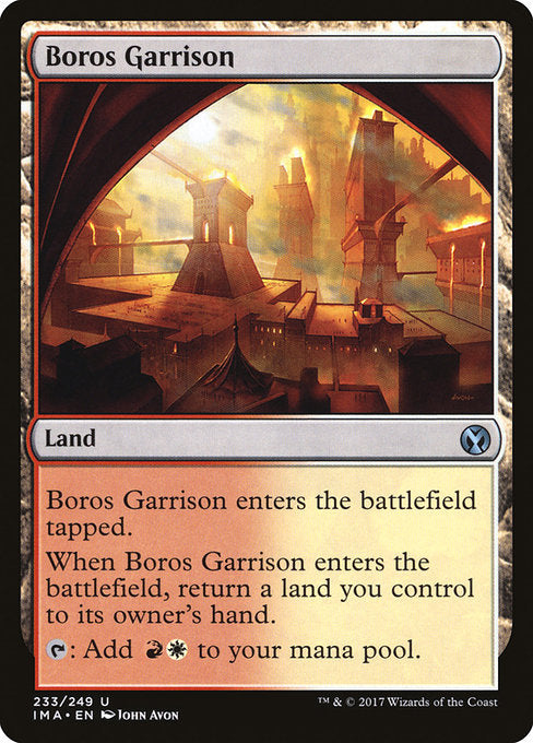 Boros Garrison [Iconic Masters] | Gamers Grove