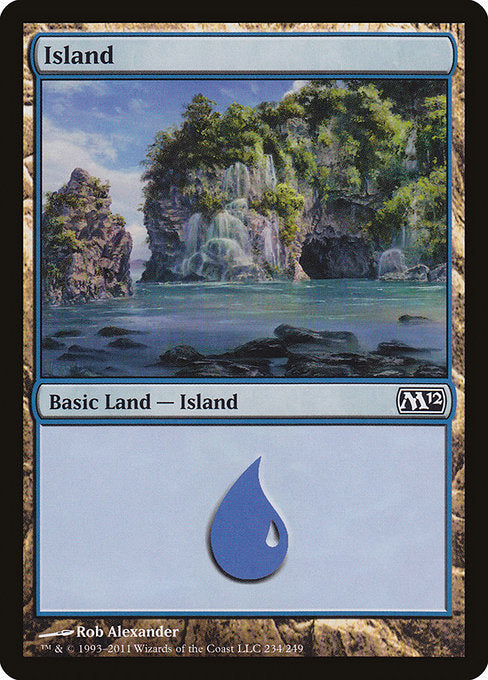 Island [Magic 2012] | Gamers Grove
