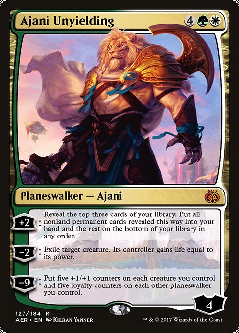 Ajani Unyielding [Aether Revolt] | Gamers Grove