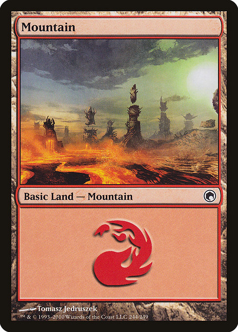 Mountain [Scars of Mirrodin] | Gamers Grove